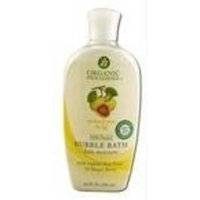Organic Indulgence Bubble Bath,Og,Pear and Fig 10 oz
