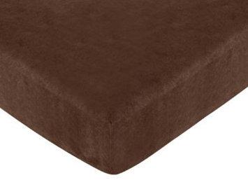 Jojo Designs, Llc. Sweet Jojo Designs AllStar Fitted Baby Crib Sheet Chocolate
