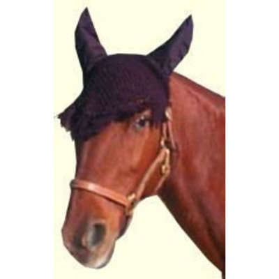 Imported Horse & Supply Fly Veil For Horses, Blue