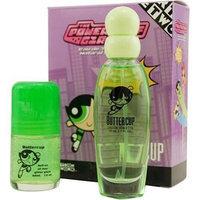 Powerpuff Girls Buttercup By Warner Bros For Women. Set-edt Spray 1.7 oz & Roll On Glitter 1 oz