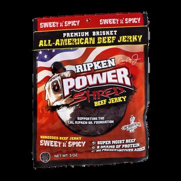 Ripken Power Shred Beef Jerky Sweet n' Spicy