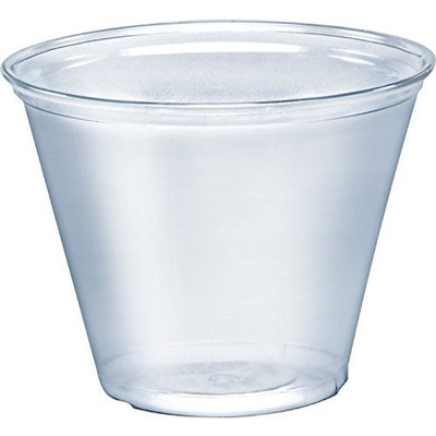 Solo Foodservice TP9D Cold Cup, 9 oz, Clear ( Pack of 1000 )