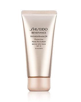 Shiseido Benefiance WrinkleResist 24 Protective Hand Revitalizer SPF 15, 2.6 oz.