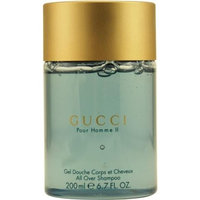 Gucci Pour Homme Ii by Gucci for Men. All Over Shampoo 6.8-Ounces