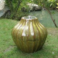 Smart Garden Prometheus Ceramic Fire Pot Sierra Grn