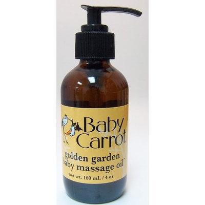 Golden Garden Baby Massage Oil Wild Carrot Herbals 4 oz Oil