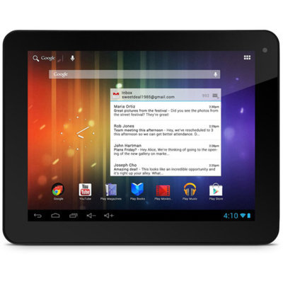 Ematic Pro Series 8GB 8 HD Dual-Core Tablet with Android 4.1, Jelly Bean and Google Play