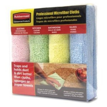 Rubbermaid Surface Cleaner Wipe - Blue Yellow Green Pink
