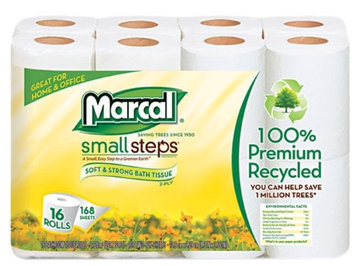 Marcal 1646616PK Toilet Tissue 168 Sheets per Roll