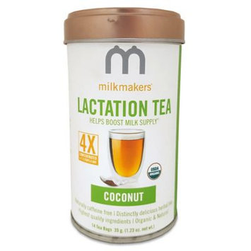 Milkmakers Coconut Lactation Tea - 14 Count
