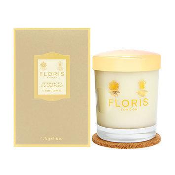 Floris Scented Candle - Stephanotis & Ylang Ylang 175g/6oz