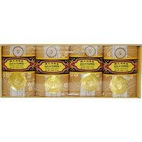 Bee & Flower Sandalwood Soap 4.4oz, 4 Pack/case