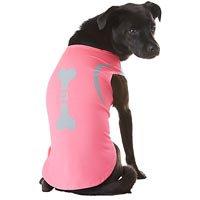 Petco Pup Crew Sport Neon Pink Jogging Dog Tank Top, XX-Small