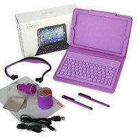 Solutions 2 Go iPad Mini Bluetooth Accessory Kit - Purple