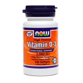 NOW Foods Vitamin D-3 2000 IU