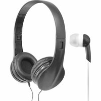 Wicked Audio Mayhem Headphones Bundle Black - M-SQUARED