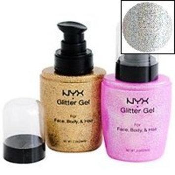 Mad4cosmetics NYX Face, Body & Hair Glitter Gel - Silver
