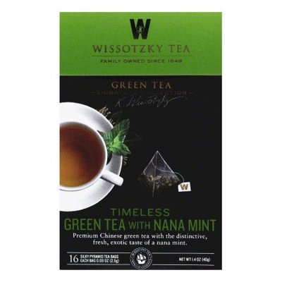 Wissotzky BPC1025297 Wissotzky Green Timeless with Nana Mint - 6x16 BAG