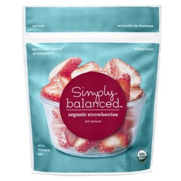 Simply Balanced Organic Frozen Strawberries 10 oz