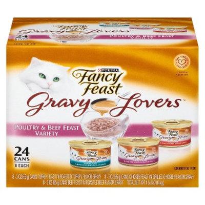 Purina Fancy Feast Fancy Feast Gravy Lovers Poultry & Beef Feast Variety Wet Cat Food -