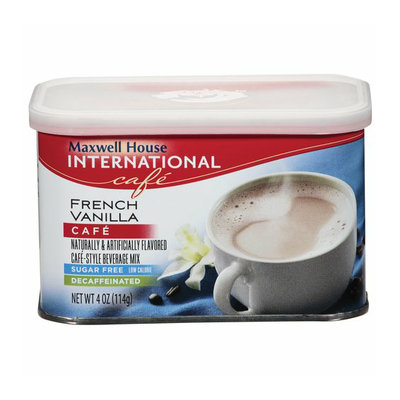 Maxwell House International Cafe French Vanilla Cafe Beverage Mix