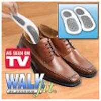 Ideal Products WalkFit Platinum Custom Orthotics - Female 11-11.5/Male 10-10.5 (Size