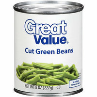 Great Value : Cut Green Beans