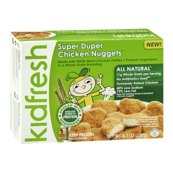 Kidfresh Super Duper Chicken Nuggets