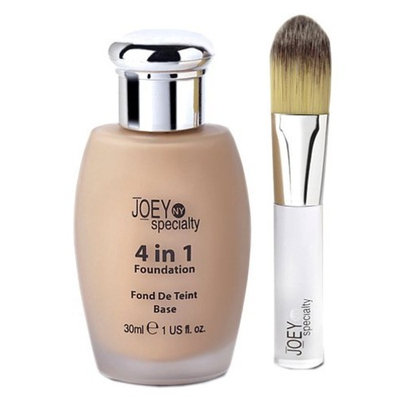 Joey NY Specialty 4 In 1 Foundation For Normal to Dry Skin, Medium , 1 fl.-Ounce Bottle