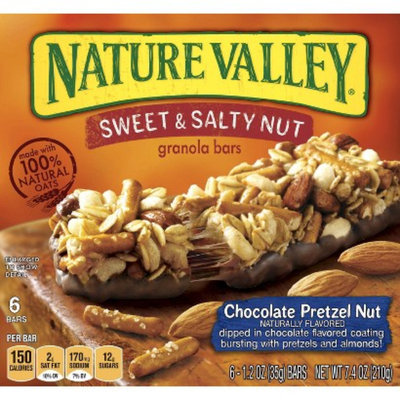 Nature Valley Sweet & Salty Granola Bars Chocolate Pretzel Nut