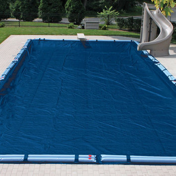 Doheny In Ground Pool Cover 12x12 Weave - 16X32 Rectangle