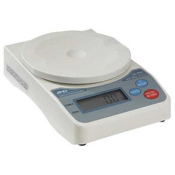 A & D WEIGHING HL-200I Compact Digital Scale, SS Pltfrm,200g Cap