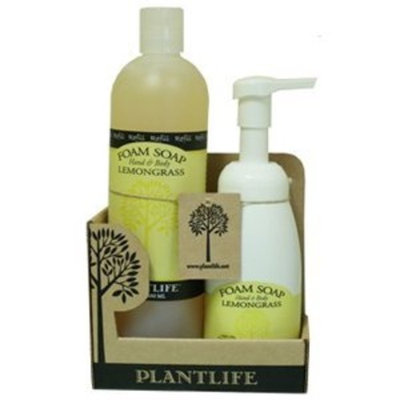Plantlife Value Set Lemongrass Foam Soap