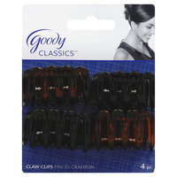 Goody Products Inc. Classics Wavy Claw Clip, 4 CT