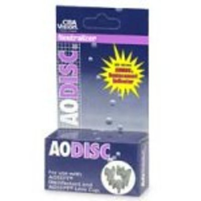Ciba Vision Aodisc Neutralizer, for use with AoSept Disinfectant and AoSept Lens Cup - 1 ea
