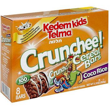 Kedem Kids Telma Crunchee Coco Rice Cereal Bars