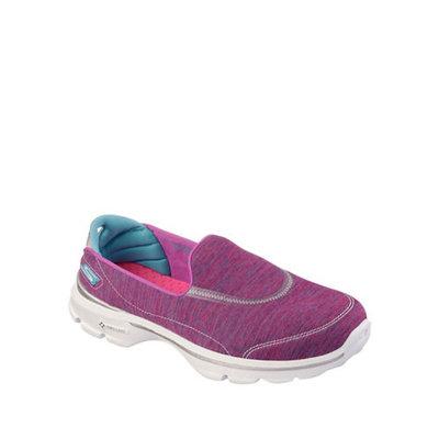 Skechers GOwalk 3 Force Women's Slip-On Walking Shoes, Size: 8, Grey