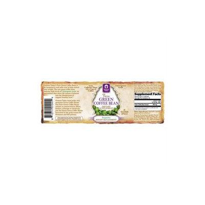 Genesis Today Pure Green Coffee Bean Extract - 60 Vegetarian Capsules
