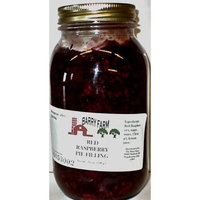 Barry Farm Red Raspberry Pie Filling, Sugar Free, 32 fl. Oz.