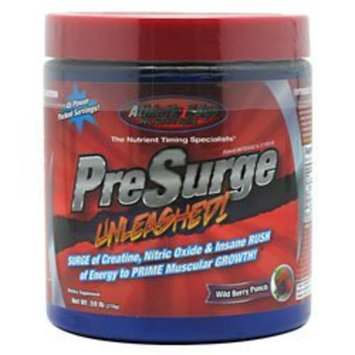 Athletic Edge Nutrition Presurge, Unleashed, Wild Berry Punch, 270 Grams