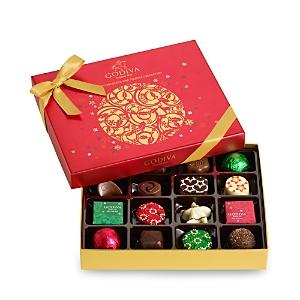 Godiva 16-pc. Holiday Chocolate & Truffle Gift Box