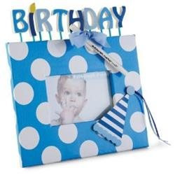 Mud Pie® Birthday Autograph Frame