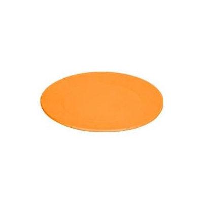 Green Toys Green Eats Snack Plate, 4pk, Orange