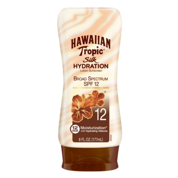 Hawaiian Tropic® Silk Hydration SPF 12 Sunscreen Lotion