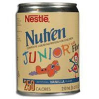 Nutren Junior With Fiber Complete Liquid Nutrition, By Nestlé - 250 ml/can X 24cans/case