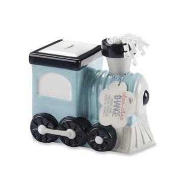 Baby Aspen Choo-Choo Change Ceramic Train Bank