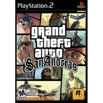 Sony Grand Theft Auto: San Andreas [RATED M] (used)