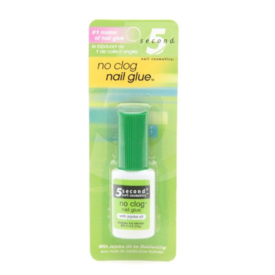 5 Second No Clog Nail Glue