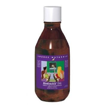 Source Naturals ArcticPure Attentive Child DHA Liquid, 6.76 Fluid Ounce Glass Bottle