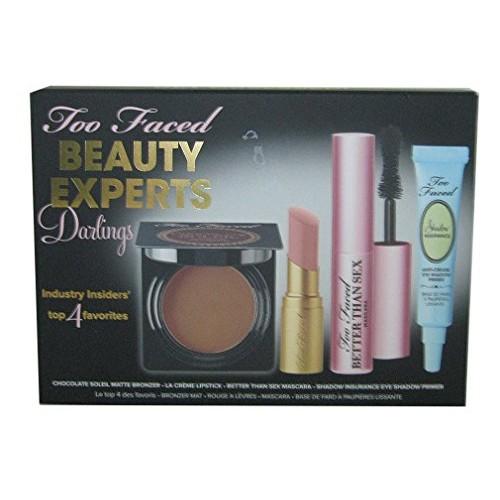 Too Faced Beauty Expert Darling Set Mascara Primer Bronzer Lip Cream